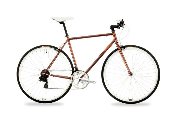 Csepel Torpedo 3* férfi fitness kerékpár - barna - 54 cm