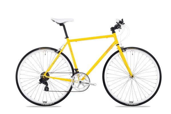 Csepel Torpedo 3* férfi fitness kerékpár - sárga - 54 cm