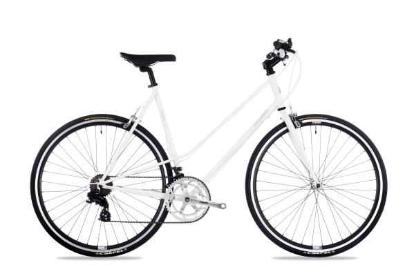 Csepel Torpedo 3* női fitness kerékpár - fehér - 57