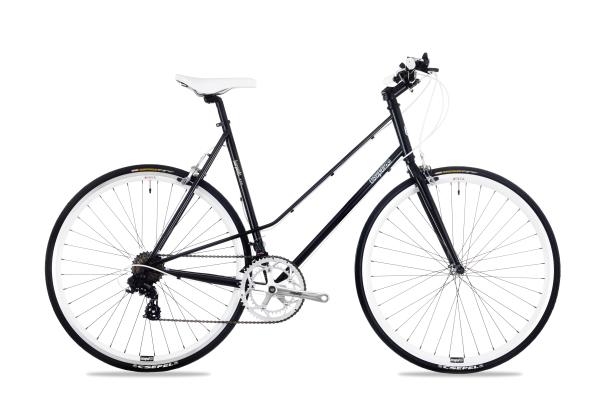 Csepel Torpedo 3* női fitness kerékpár - fekete - 51 cm