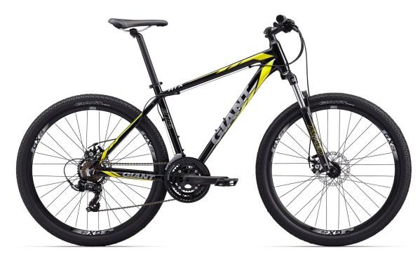 """Giant ATX 2 férfi 27.5"""" MTB kerékpár - fekete/sárga - XXS (2017)"""
