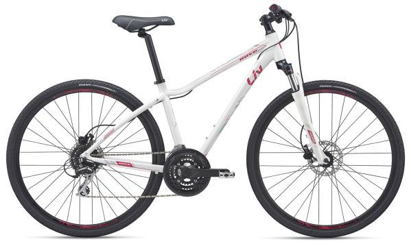Giant LIV Rove 3 Disc női cross kerékpár - fehér/rózsaszín - L (2019)