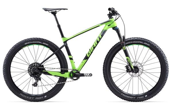 """Giant XTC Advanced +2 férfi 27.5"""" MTB kerékpár - zöld - L (2017)"""