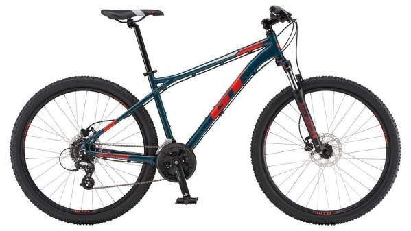 """GT Aggressor Expert férfi 27.5"""" MTB kerékpár - sötétkék - XL (2019)"""