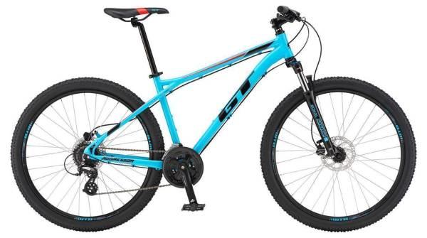"""GT Aggressor Expert férfi 27.5"""" MTB kerékpár - világoskék - S (2019)"""