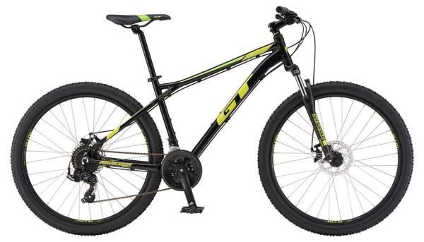 "GT Aggressor Sport férfi 27.5"" MTB kerékpár - fekete - S (2019)"