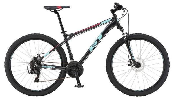 """GT Aggressor Sport férfi 27.5"""" MTB kerékpár - fekete/világoskék - XS (2019)"""