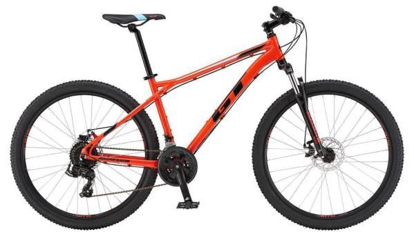 "GT Aggressor Sport férfi 27.5"" MTB kerékpár - piros - XS (2019)"