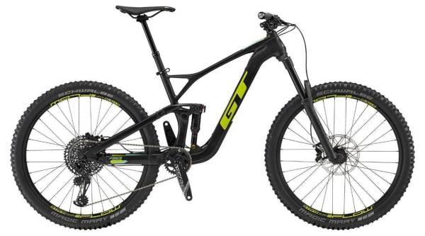 """GT Force Carbon Expert férfi 27.5"""" összteleszkópos MTB kerékpár - fekete - L (2019)"""