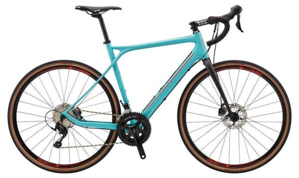 GT Grade Carbon Expert gravel kerékpár - türkiz (2018)