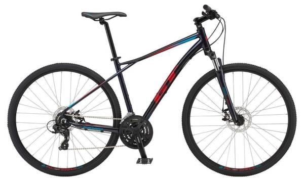 GT Transeo Comp férfi cross kerékpár - sötétkék - XL (2019)