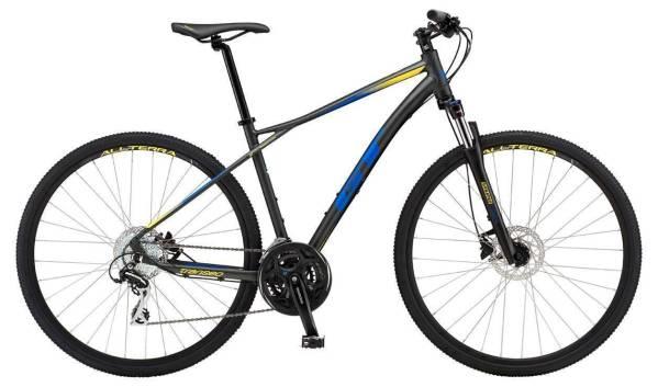 GT Transeo Elite férfi cross kerékpár - fekete/kék - XL (2019)
