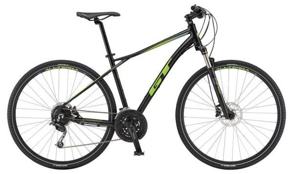 GT Transeo Expert férfi cross kerékpár - fekete - L (2019)