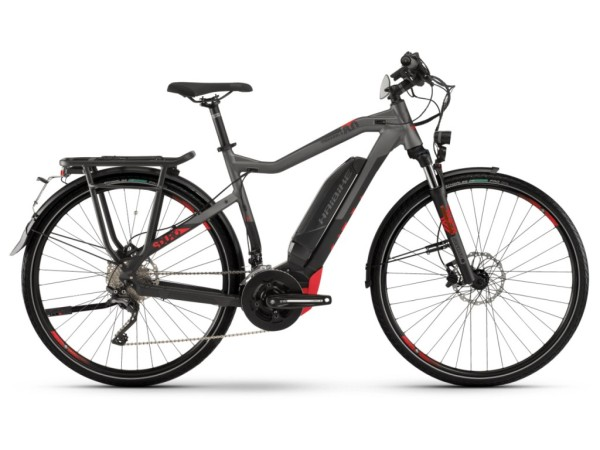 Haibike SDURO Trekking S 8.0 férfi pedelec kerékpár - fekete/titán - M (2019)