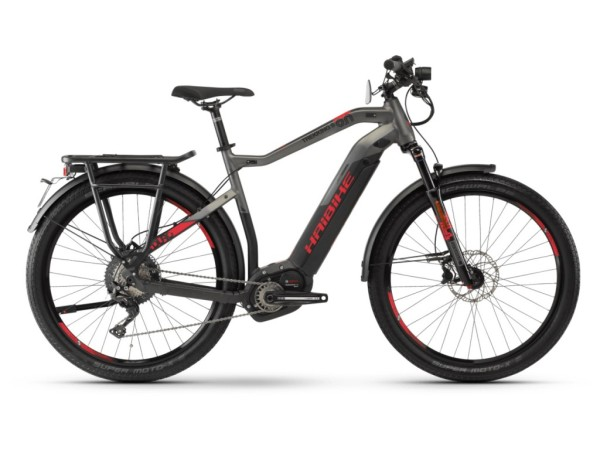 Haibike SDURO Trekking S 9.0 férfi pedelec kerékpár - fekete/titán - L (2019)