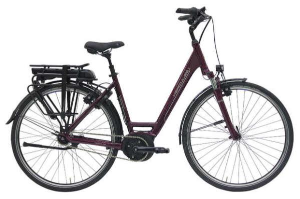 Hercules Montfoort F7 női pedelec kerékpár - bogyó - 55 cm (2018)