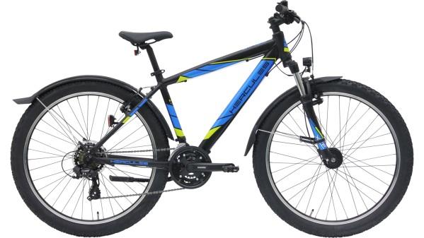 Hercules Sonic 21 HE gyermek kerékpár - matt fekete (2019)