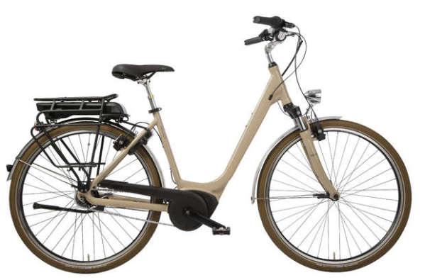 Hercules Urbanico F8 500Wh női városi pedelec kerékpár - homok - 50 (2018)