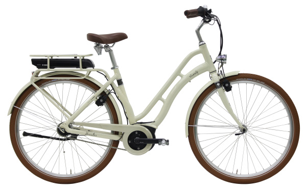 Hercules Viverty E R7 ZR 400Wh női pedelec városi kerékpár - pezsgő - 50 cm (2019)