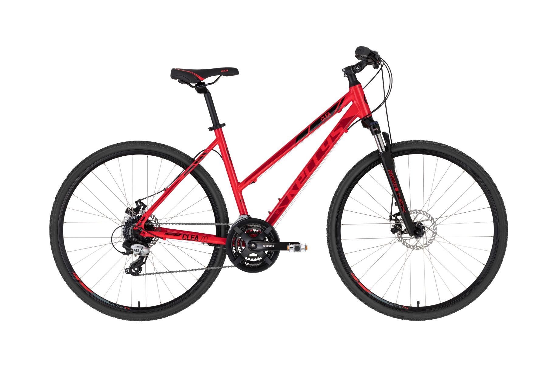 Kellys Clea 70 női cross kerékpár - piros - S (2020)