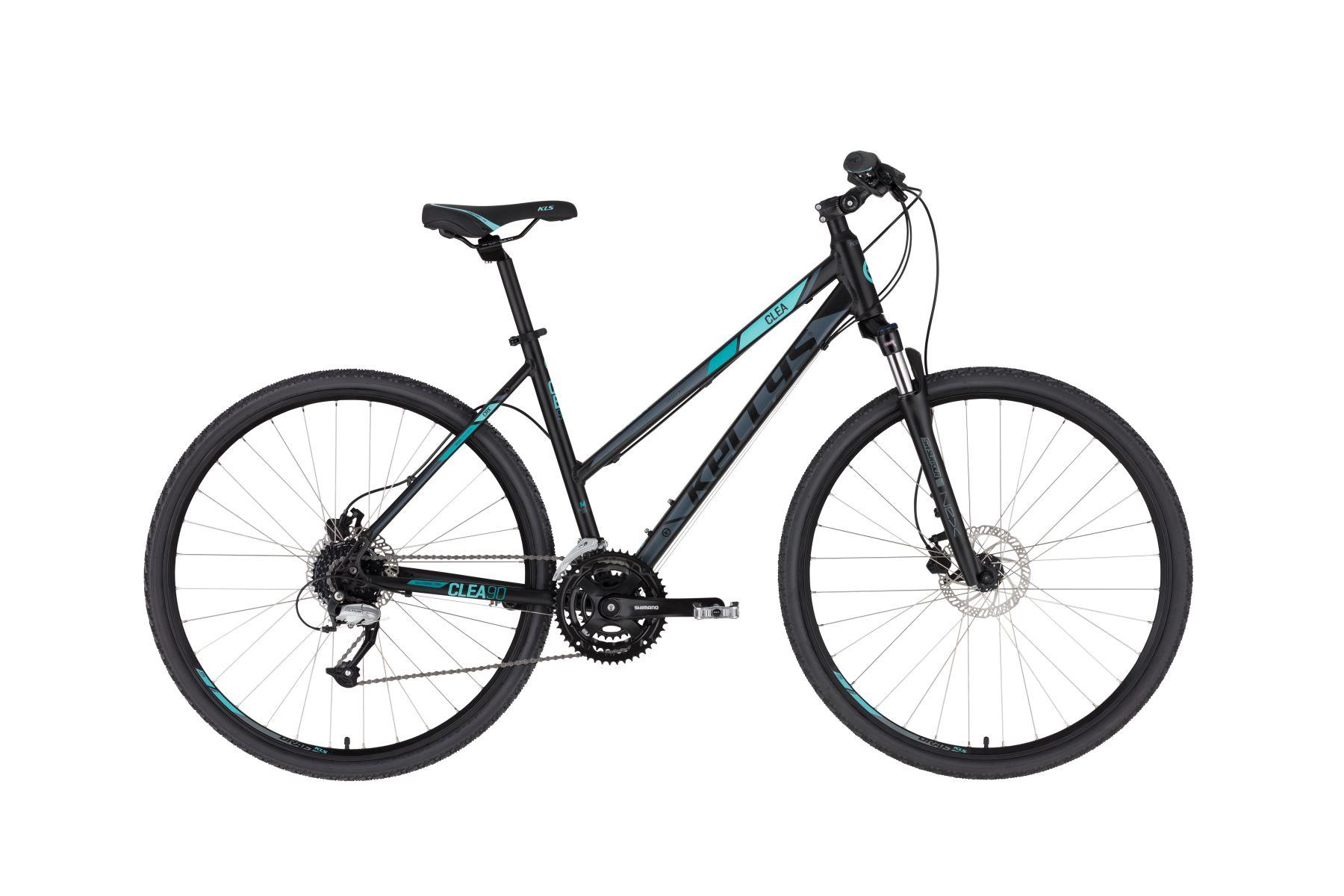 KELLYS Clea 90 női cross kerékpár - fekete/aqua - M (2020)