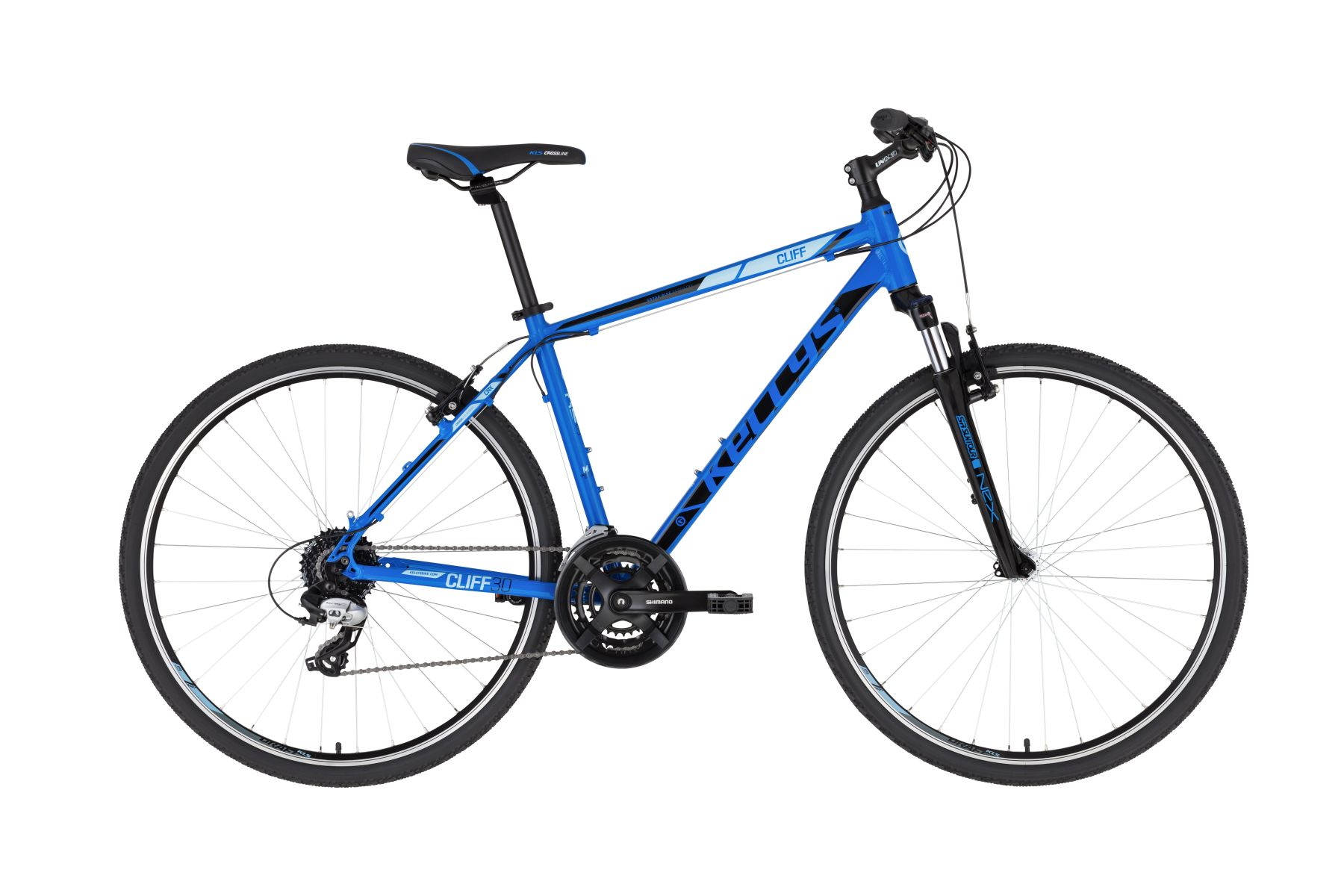KELLYS Cliff 30 férfi cross kerékpár - kék - M (2021)