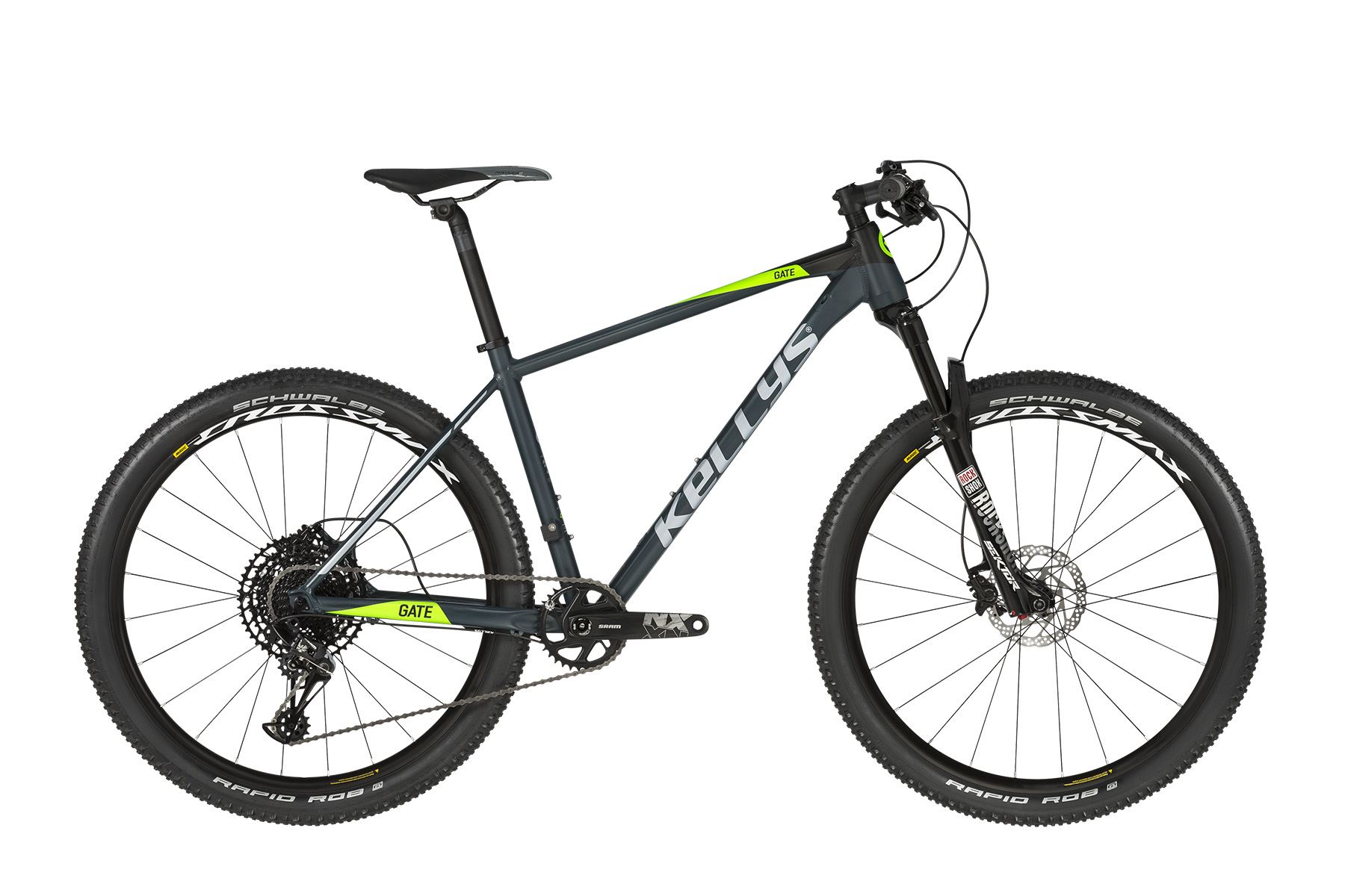 """KELLYS Gate 90 férfi 27.5"""" MTB kerékpár - fekete - S (2019)"""