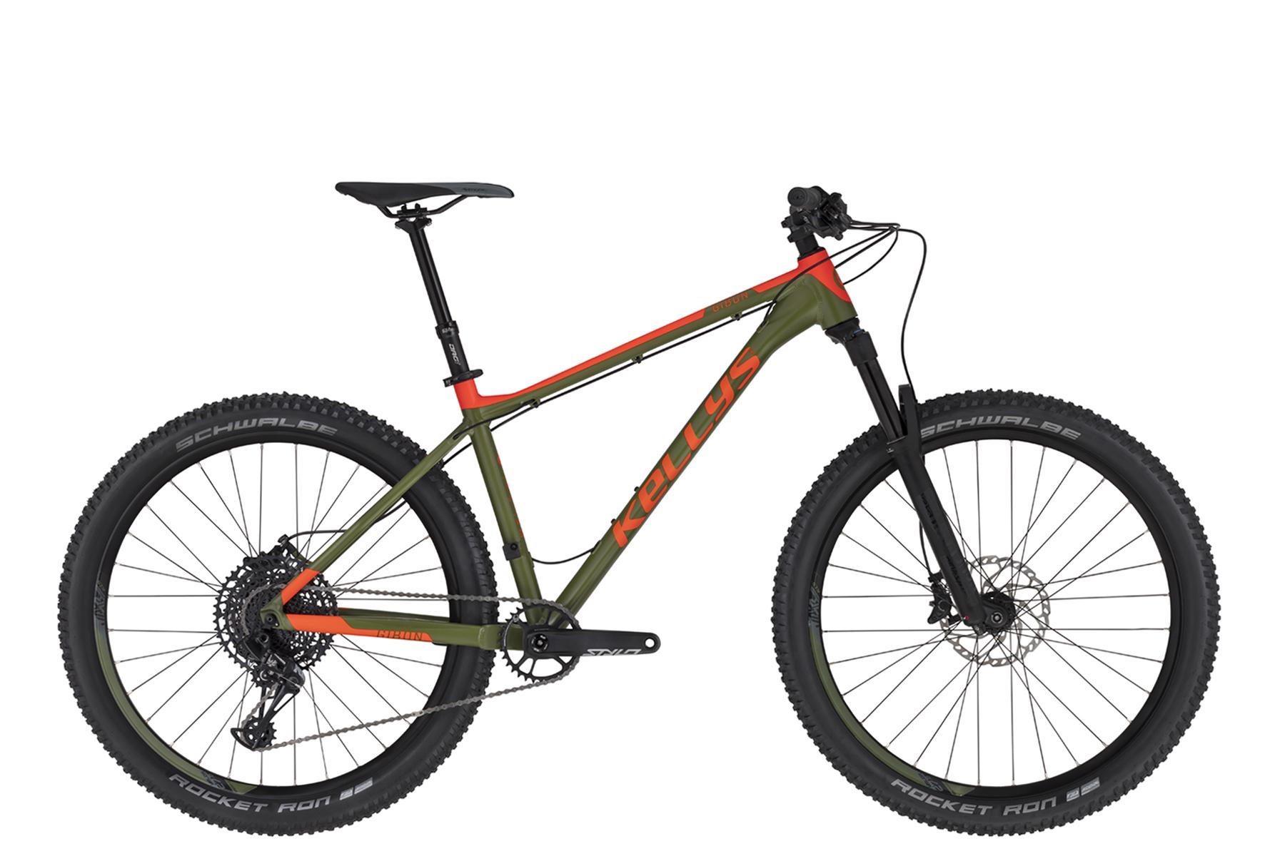 """KELLYS Gibon 70 férfi 27.5"""" MTB kerékpár - zöld - S (2020)"""