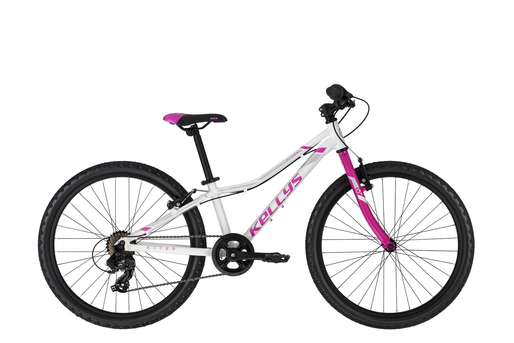 """KELLYS Kiter 30 junior 24"""" kerékpár - fehér (2021)"""