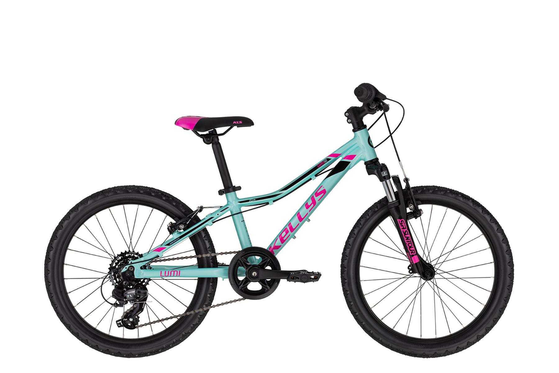 """KELLYS Lumi 50 gyermek 20"""" kerékpár - pink/kék (2020)"""