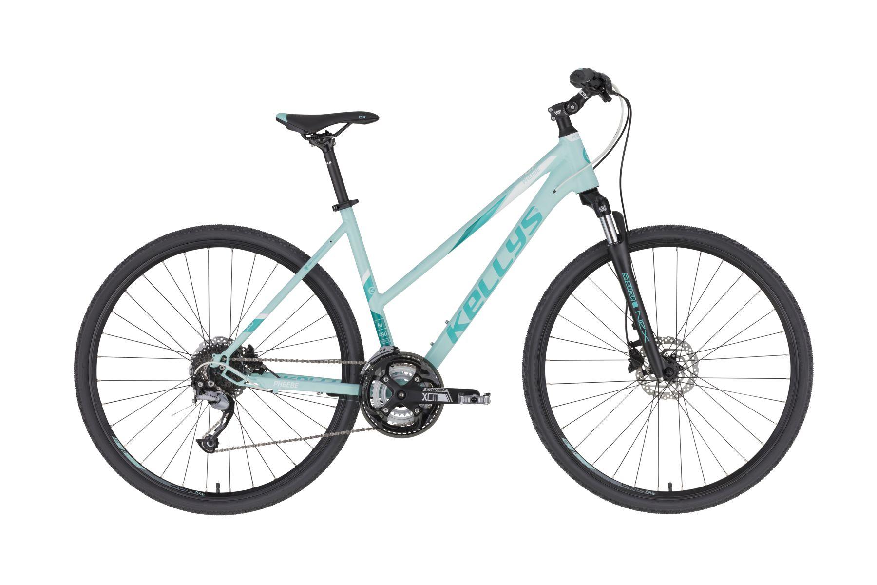KELLYS Pheebe 10 női cross kerékpár - menta - M (2020)