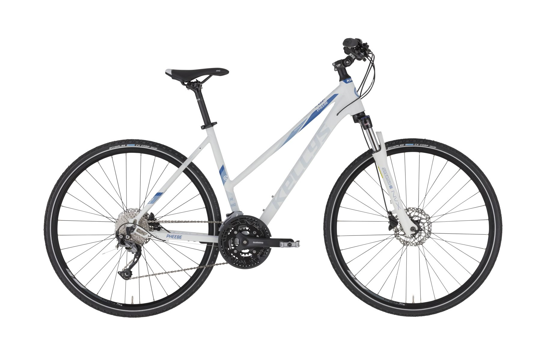 KELLYS Pheebe 30 női cross kerékpár - fehér - M (2021)