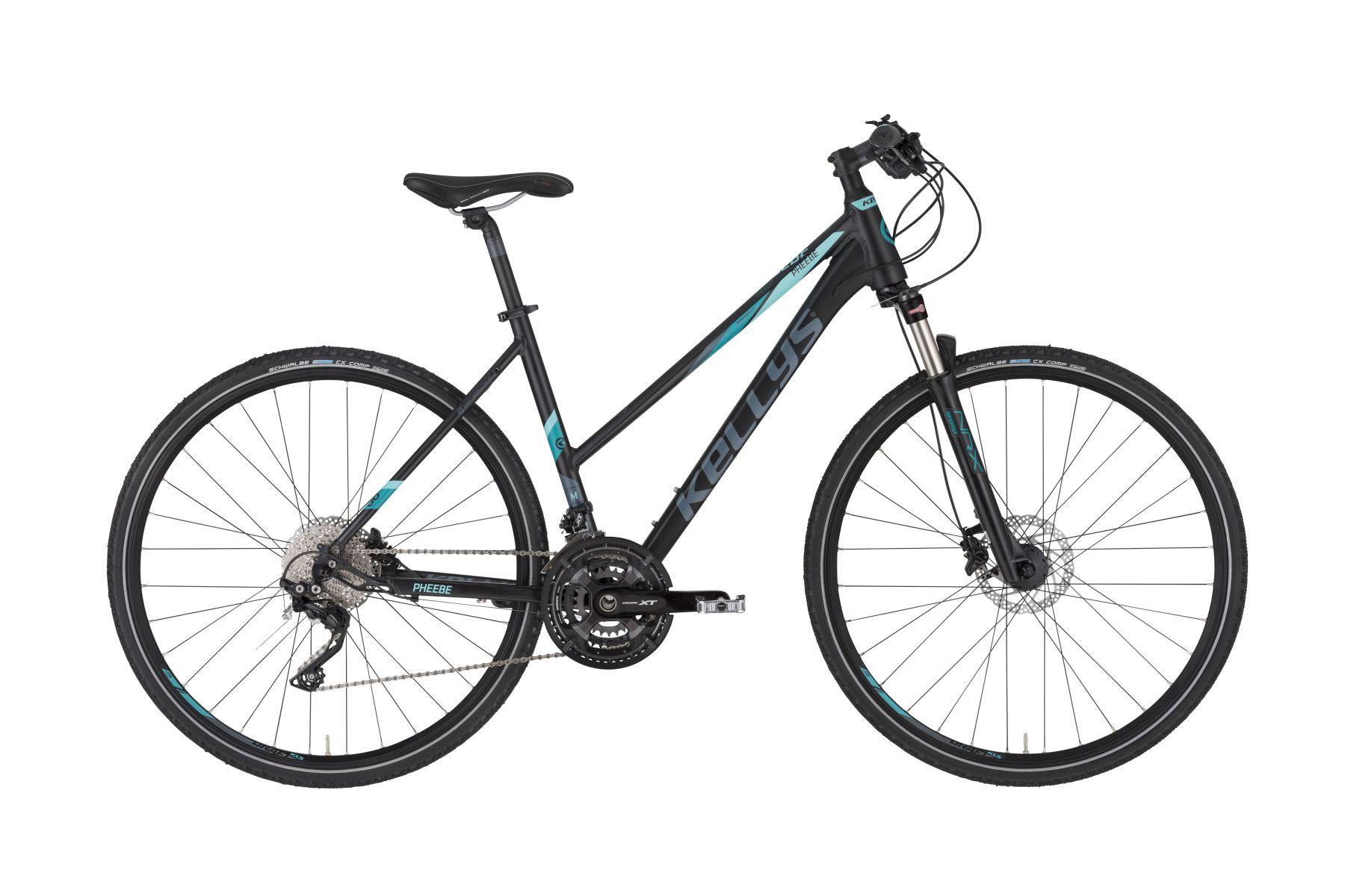 KELLYS Pheebe 90 női cross kerékpár - fekete - M (2020)
