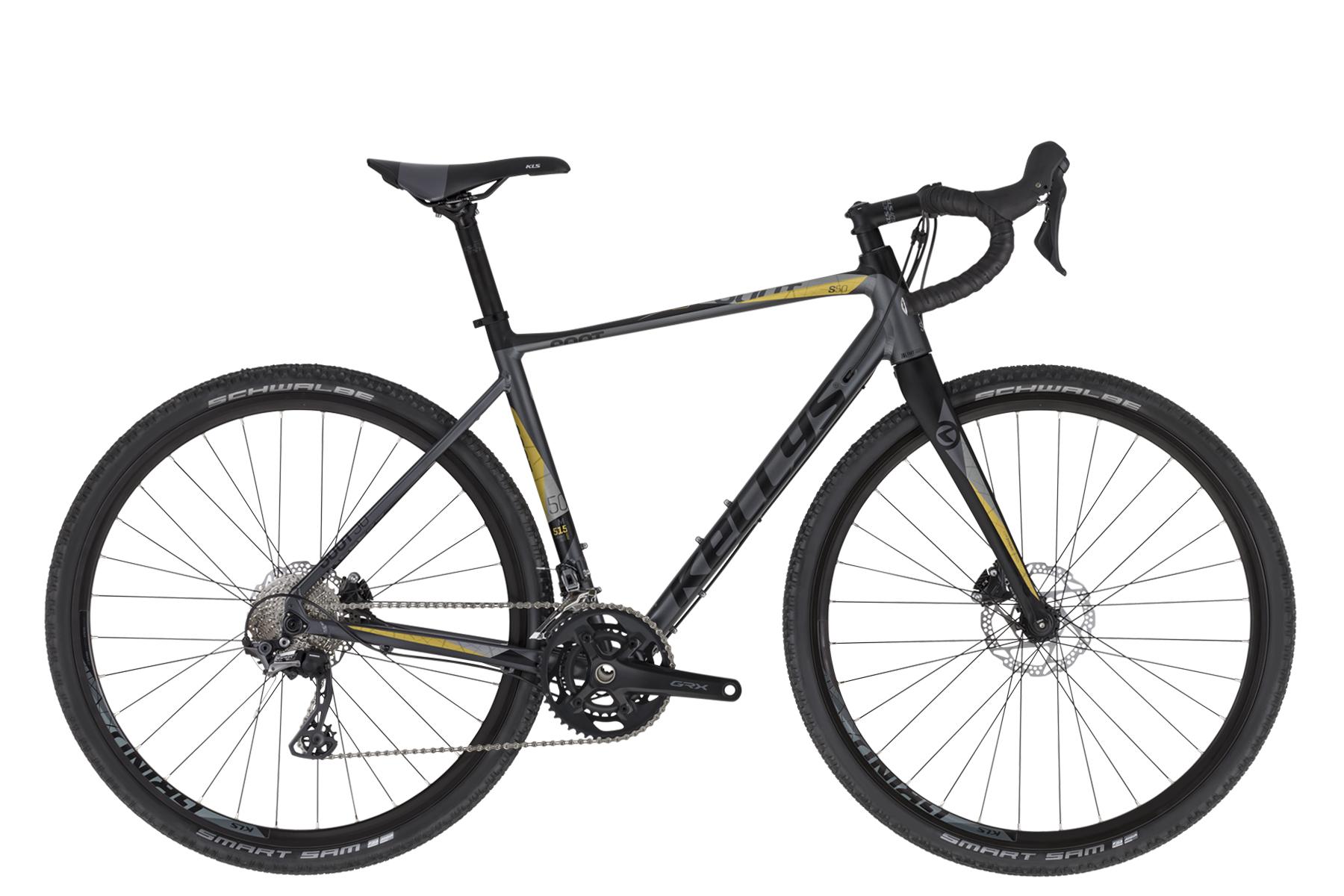 KELLYS SOOT 50 gravel kerékpár - fekete - S (2020)