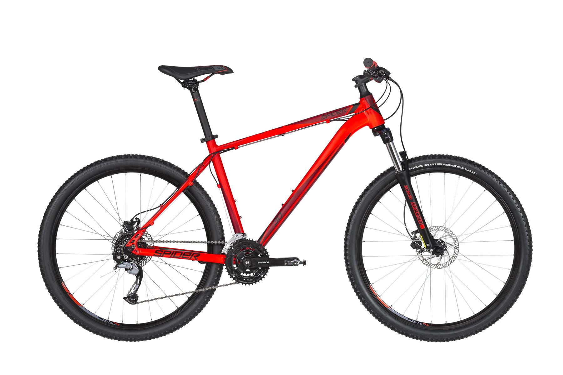 """KELLYS Spider 30 férfi 27.5"""" MTB kerékpár - piros - L (2019)"""