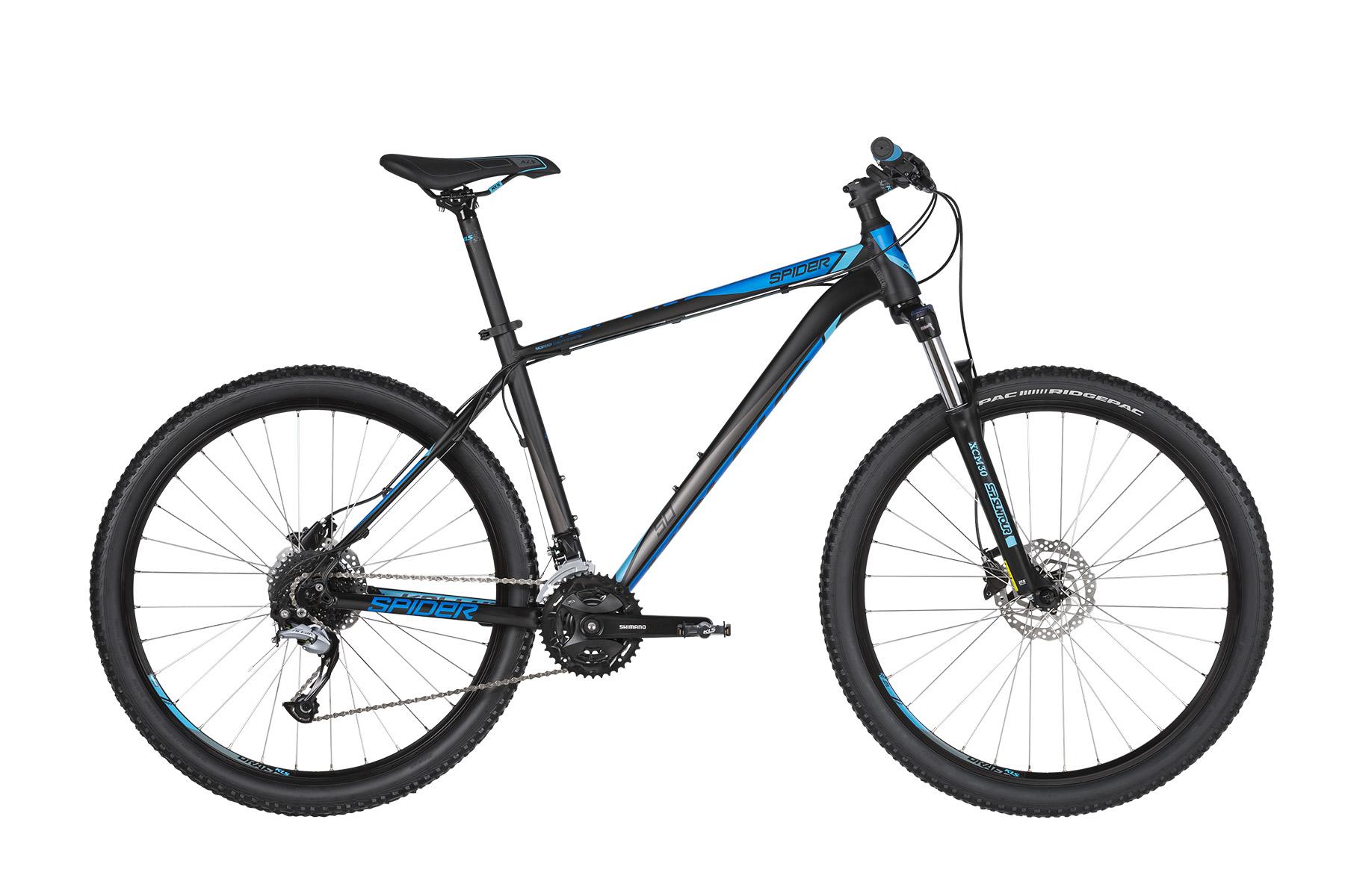 """KELLYS Spider 50 férfi 27.5"""" MTB kerékpár - fekete/kék - L (2019)"""
