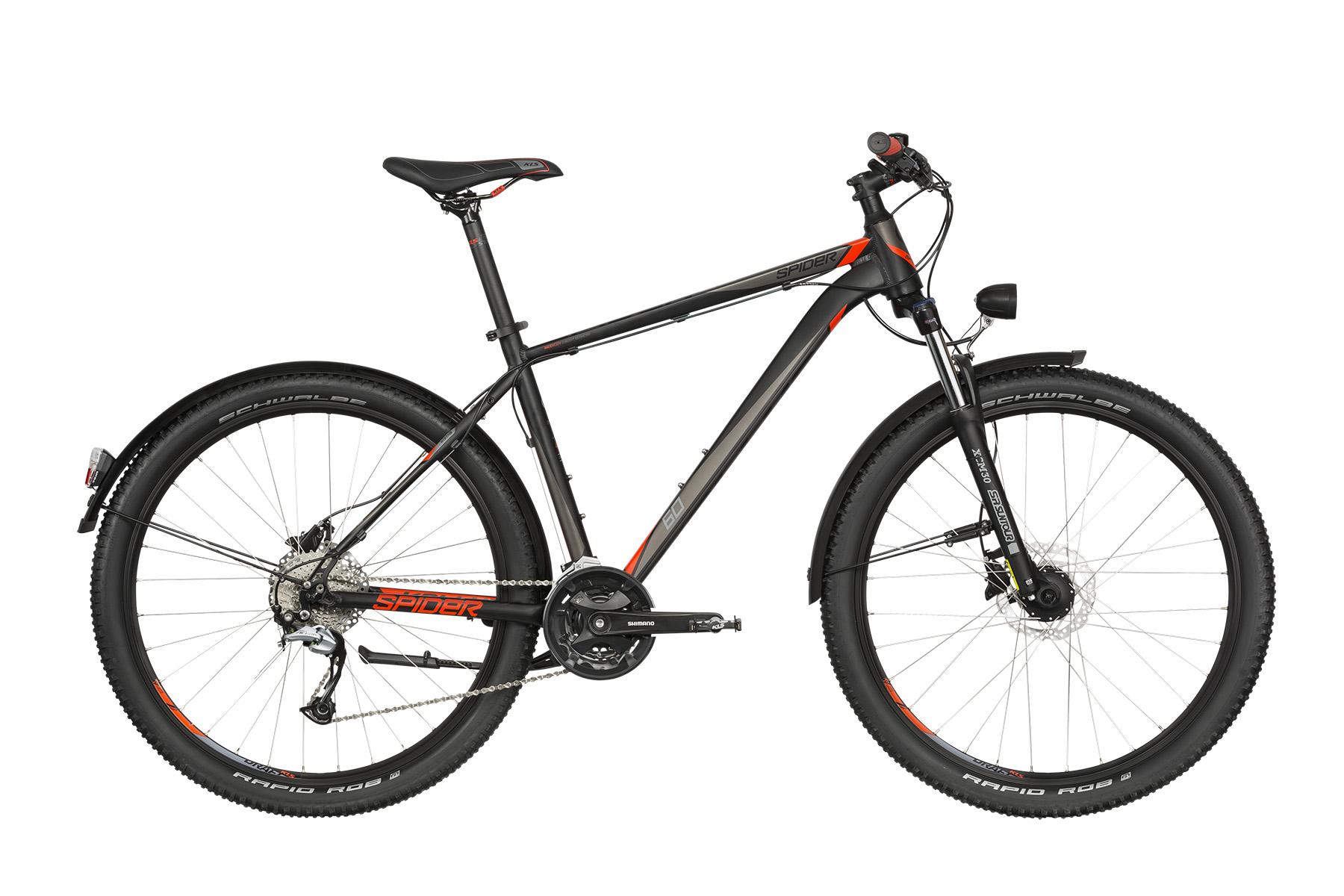"""KELLYS Spider 60 férfi 27.5"""" MTB kerékpár - fekete - M (2019)"""