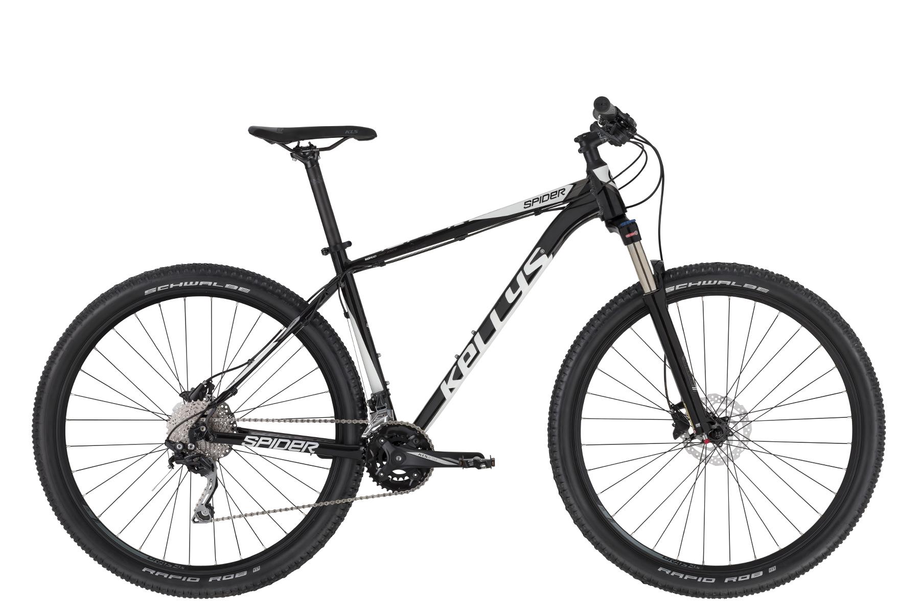"""KELLYS Spider 90 férfi 27.5"""" MTB kerékpár - fekete - S (2020)"""