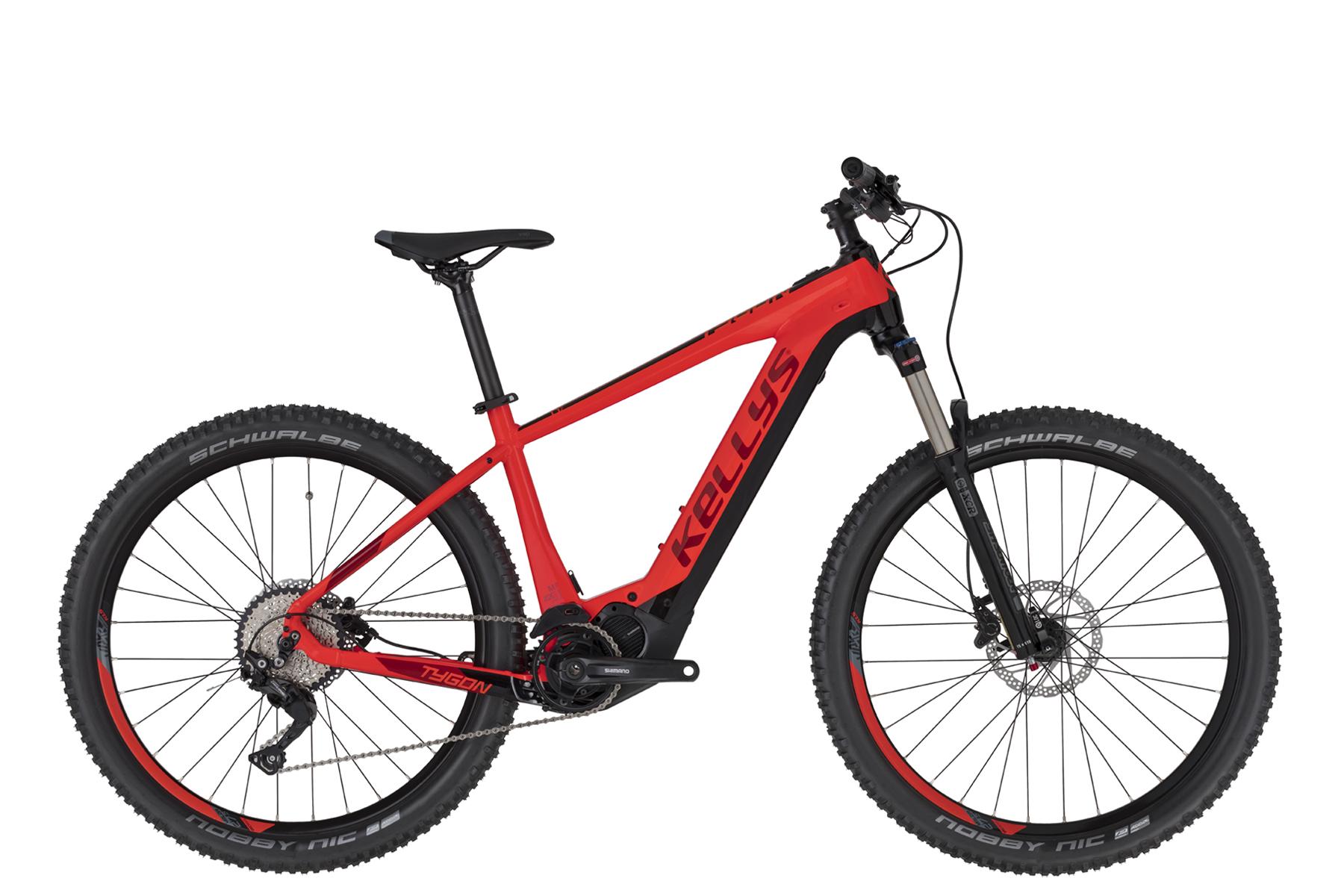"""KELLYS Tygon 50 férfi 27.5"""" MTB pedelec kerékpár - piros - S (2020)"""