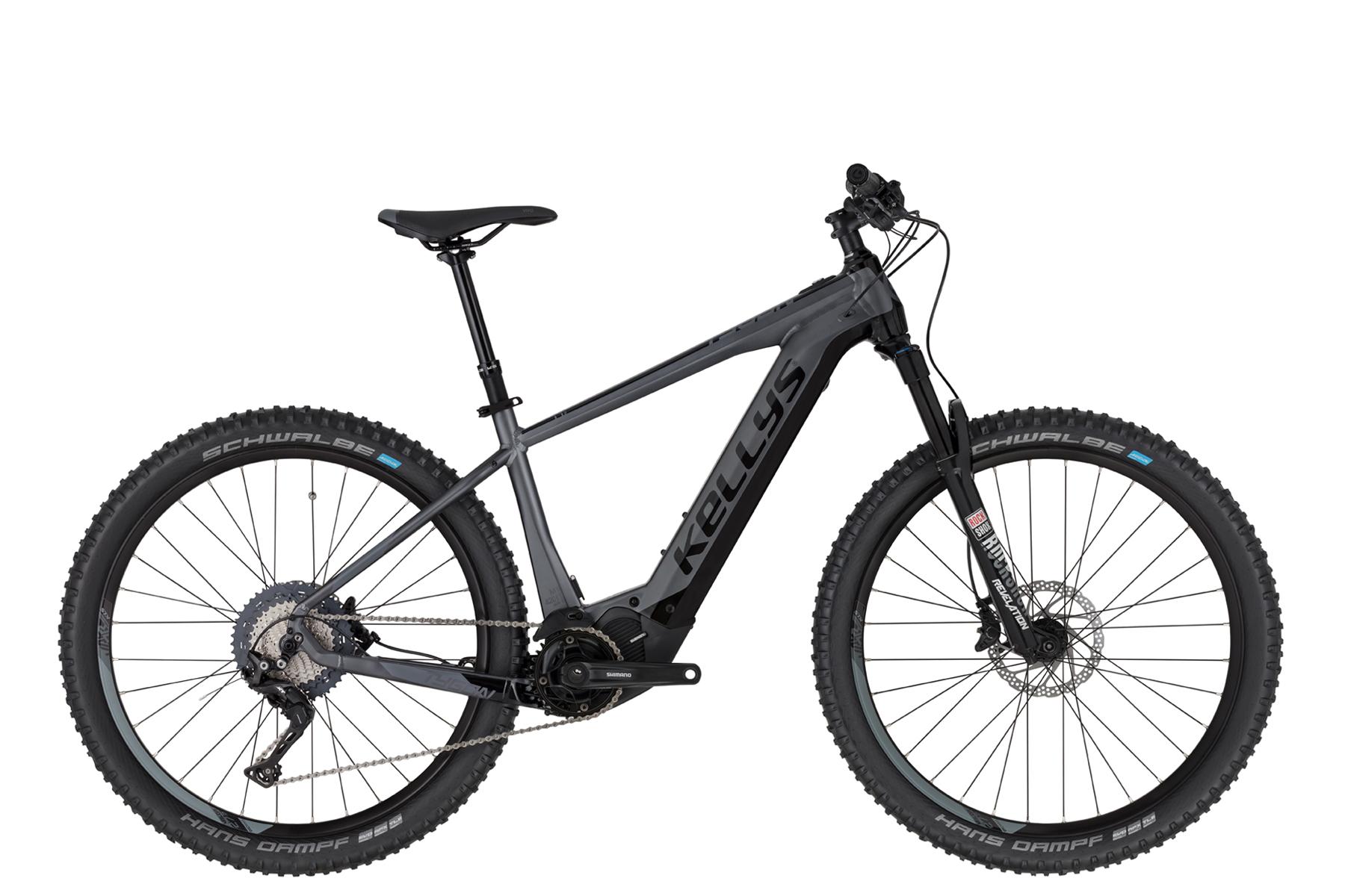 """KELLYS Tygon 70 férfi 27.5"""" MTB pedelec kerékpár - szürke - L (2020)"""