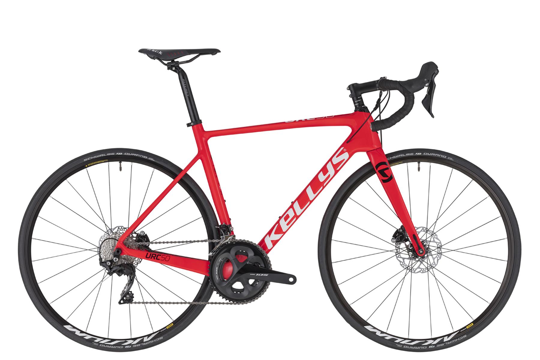 KELLYS URC 50 országúti kerékpár - piros - L (2020)