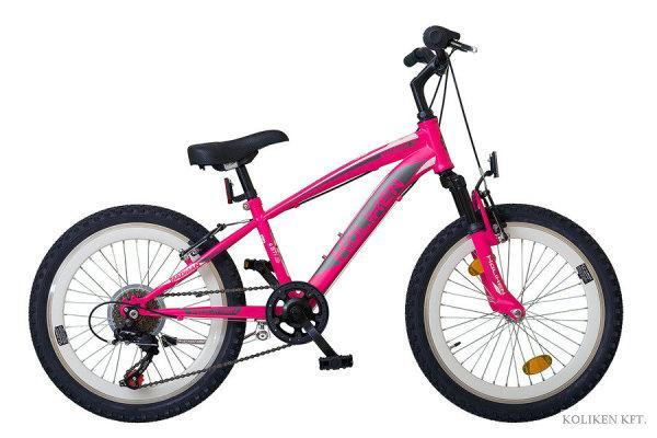 Koliken Madman 20 gyermek kerékpár - pink