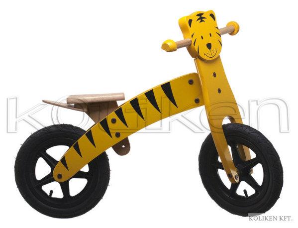 """Koliken Tiger 12"""" futókerékpár - sárga"""