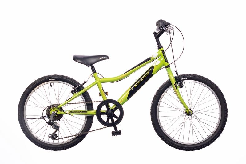 Neuzer Bobby 20 6S gyermek kerékpár - fekete/zöld-kék