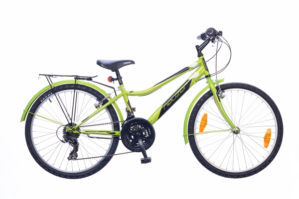 Neuzer Bobby 24 City gyermek kerékpár - zöld