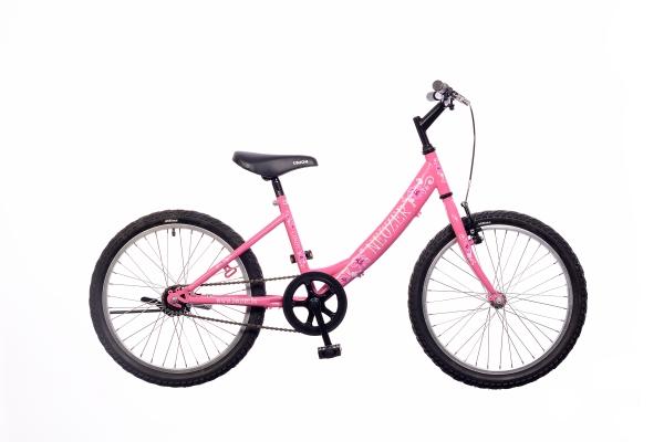 Neuzer Cindy 20 1S gyermek kerékpár - pink