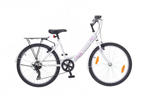 Neuzer Cindy City 24 gyermek kerékpár - fehér