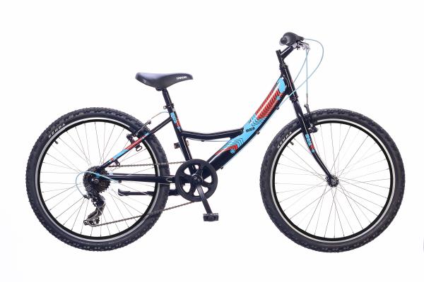 Neuzer Maja 24 6S gyermek kerékpár - fekete
