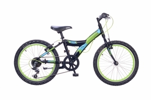 Neuzer Max 20 6S gyermek kerékpár - fekete