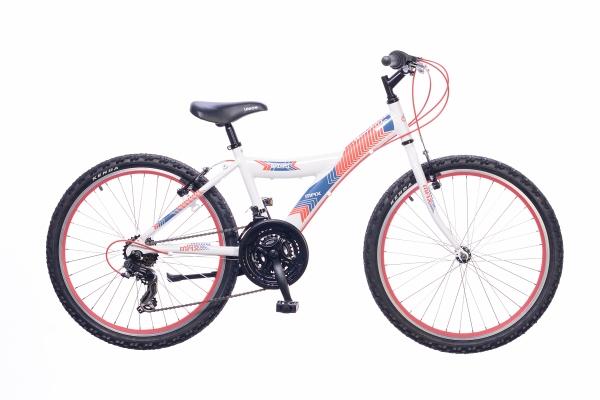 Neuzer Max 24 18S gyermek kerékpár - fehér